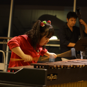 Sayuri Playing Marimba